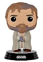 Funko- Episode VII Pop Bobble Star Wars E7 TFA Luke Skywalker Final Scene, 9611