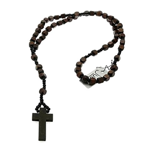 inca-unisex-wood-rosary-beads-surf-necklace-brown