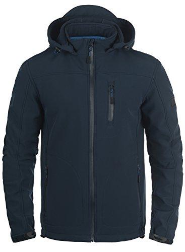 INDICODE Deegan Softshell Jacke, Größe:L;Farbe:Navy (400)