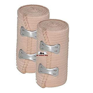 All-around24® Pack of 2Elastic Sport Bandage / Brace / Ankle Support