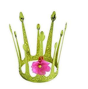 KarnevalsTeufel Krone, Märchenkrone Metallkrone, Krönchen, Prinzessinnenkrone, Königinnenkrone, Königin, Schmuck, Accessoire, Mädchenschmuck … (Modell A)