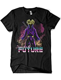 Camisetas La Colmena 4741-Retro Saiyan from The Future (DDjvigo)