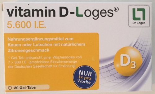Dr. Loges vitamin D-Loges 30 Kautabletten (Vitamin D Dr)