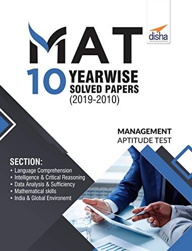 MAT 10 Year-wise Solved Papers (2019 - 10)