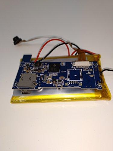 BriReTec® Mini-WLAN-Kamera- Modul mit Akku/Mini-IP-Netzwerk-Kamera MicroSD- bis 256 GB/Zugriff per Android, iPhone/WI-Fi Überwachungskamera mit Bewegungserkennung Babymonitor