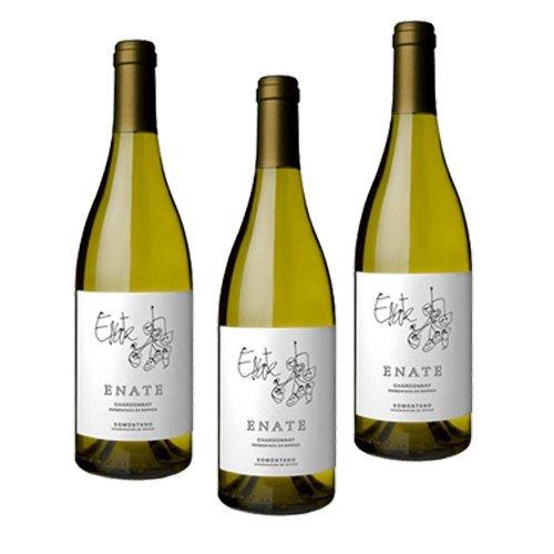 Enate Chardonnay Fermentado Barrica - Vino Blanco - 3 Botellas