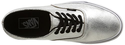 Vans U Authentic Decon, Unisex-Erwachsene Sneakers Silber (metallic/silver/black)