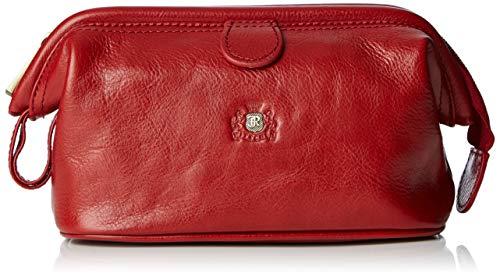 Wittchen Kosmetiktasche   Farbe: Rot   Narbenleder   Höhe (cm): 12 x Breite (cm): 21   Kollektion: Roma   22-3-004-3