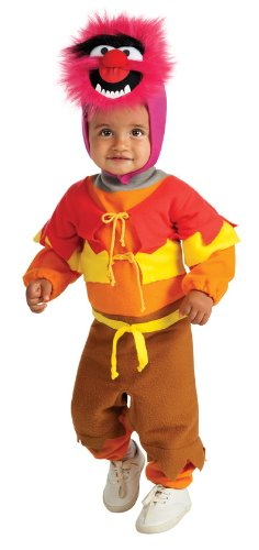 nimal Costume Baby, - Multicolour, 6-12 Monate (Animal Muppets Kostüm Kostüm)