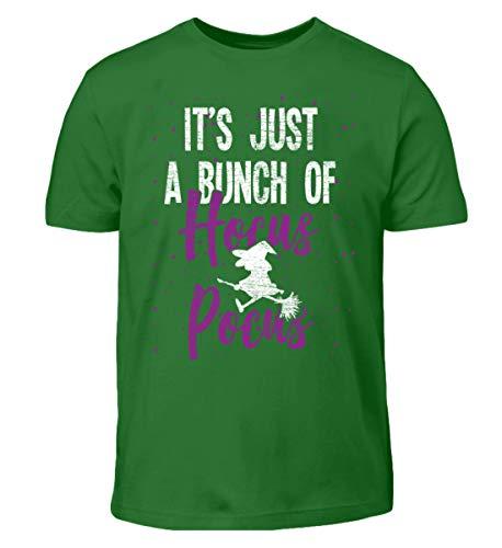 Es ist nur Hocus Pocus - Hexe - Hexen Halloween Kostüm - Kinder T-Shirt -12/14 (152/164)-Kelly - Hocus Pocus Hexe Kinder Kostüm