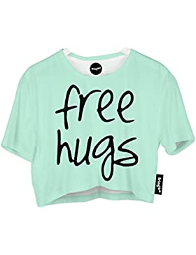 Fringoo - Camiseta - para mujer