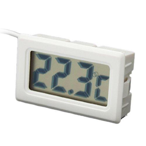 sourcingmap® Termometro LCD Digitale Mini per Frigorifero Freezer