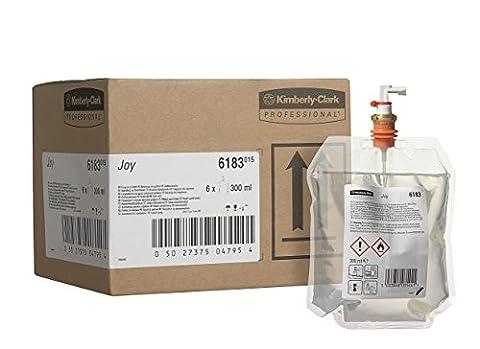 Kimberly-Clark Professional 6183 Recharge de parfum JOY, 300mL, Rouge (Pack de 6)
