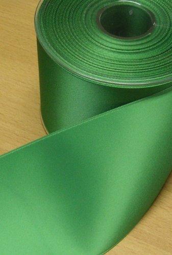 Satinband Double Face 70 mm grün