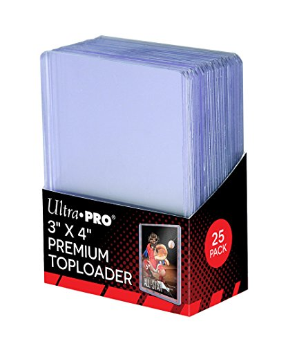 Ultra Pro Toploaders Card Game (Pack of 25, Clear)