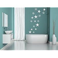 Sterne Aufkleber Wandschnörkel®