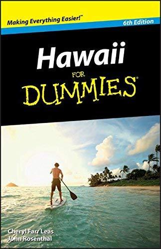 Hawaii For Dummies by Cheryl Farr Leas John Rosenthal(2010-12-13) (Hawaii For Dummies)