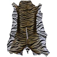 Zerimar tapis peau de south africain gazelle imitation tigre Mesures: 75x55 cms