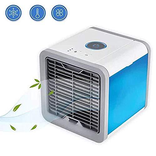 QHGao Persönlicher Raumluftkühler 3-in-1, Tragbarer Mini-klimaanlagen-luftbefeuchter-luftreiniger, Tischlüfter Für Büro-außenreisen Im Freien, Tragbarer Mini-tischventilator