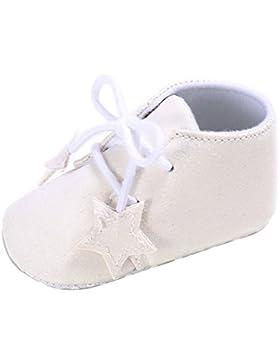 Domybest - Zapatos primeros pasos de Piel para niño dorado dorado
