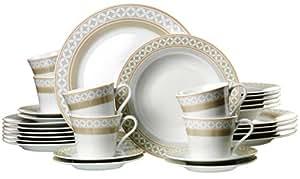 Ritzenhoff & Breker 035810 Torino Service de table 30 pièces