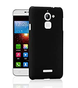 Wow Imagine SWHCN3LT5/BLK Rubberised Matte Hard Case Back Cover For Coolpad Note 3 Lite (5.0 Inch) - Pitch Black