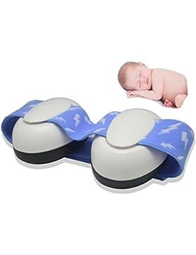 Baby Ohrenschützer™ - Gehörschutz Ohrschutz Ohrmuscheln Gehörschützer für Neugeborene 0 bis 15 Monate - Einstellbares...
