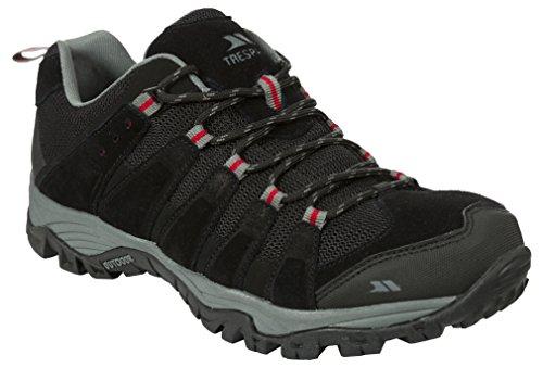 Trespass Novar, Chaussures de Running Compétition Homme Noir (Black)