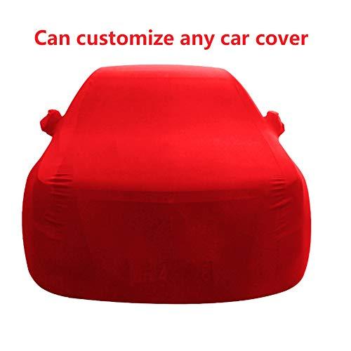 WWcar Coverking-Autoabdeckung for den Innenbereich , Kompatibler Rolls Royce CULLINAN Staubdicht (Color : Red)