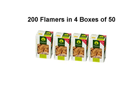 flamers-4-boxes-of-50-200-natural-firelighters-for-log-burners-home-fires-bbqs-even-larger-pack