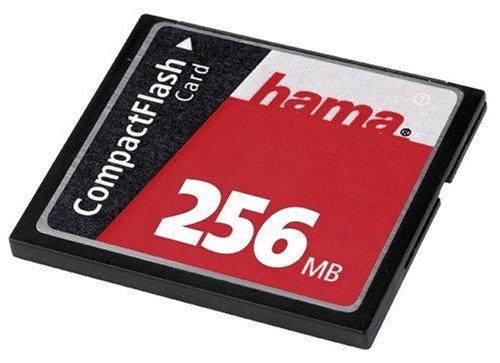 256 Mb Compactflash-speicher (Hama CompactFlash High-Speed Speicherkarte 256MB)