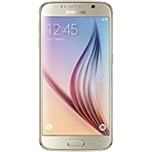 "Samsung Galaxy S6 SM-G920F SIM única 4G 64GB Oro - Smartphone (12,9 cm (5.1""), 64 GB, 16 MP, Android, 5, Oro)"