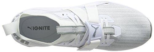 Puma Ignite Evoknit Lo 2, Scape per Sport Outdoor Uomo Bianco (Puma White-quarry)