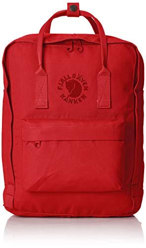 FJÄLLRÄVEN Re-Kånken Rucksack, Red, 38 cm (Farbe Für Durch Bücher Erwachsene Zahl)