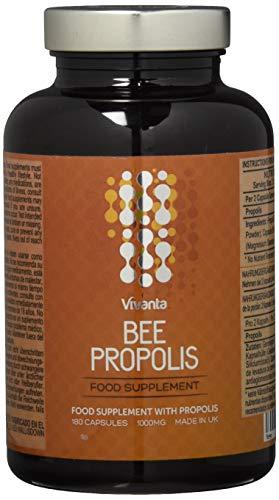 Bienen Propolis - 1000mg Propolis x 180 Kapseln | 6 Monate Vorrat | Propolis