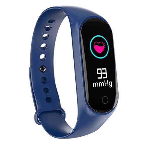 Haludock Smart Armband Farbdisplay Fitness Tracker Blutdruck Pulsmesser IP67 Wasserdicht Sport Smart Band Bluetooth 4.0
