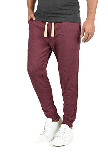 BLEND Tilo Herren Jogginghose Sweat-Pants Sporthose aus hochwertiger Baumwollmischung, Größe:L, Farbe:Zinfandel (73006)