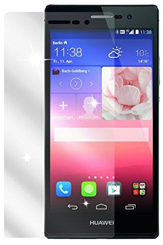dipos I 2X Schutzfolie klar passend für Huawei Ascend P7 Folie Bildschirmschutzfolie