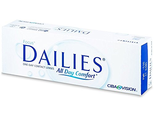 Focus Dailies All Day Comfort (30 Stk.) (Dioptrien: -02.25 / Radius: 8.6...