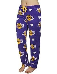 NBA Los Angeles Lakers Damen Polar Fleece Nachtwäsche / Pyjama Hose