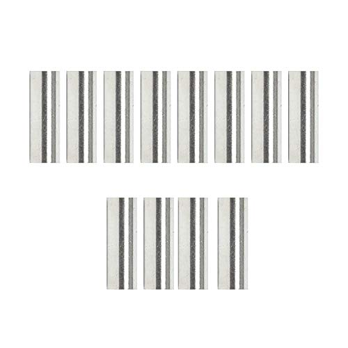 Yanten 12 Teile/Satz E-Gitarre Alnico Humbucker Pickup Magnet Slug Rods (15mm) -