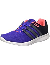 adidas Lite Runner W - Zapatillas para mujer, color azul marino / gris / rosa