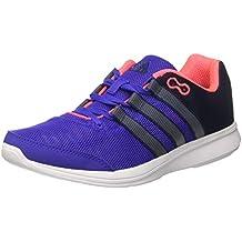 adidas Lite Runner W - Zapatillas para Mujer, Color Azul Marino/Gris / Rosa