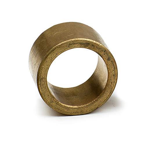 8x Sinterbronze Lager Ø 12x15x12mm für Wellen mit Ø 12mm - Bronze Lager - wartungsfreies Gleitlager - Sinterbronze Zylinderlager Buchse -