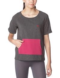 Dorotennis - T-Shirt Sportswear Manches Courtes - Fantaisie - Coton Stretch - Femme