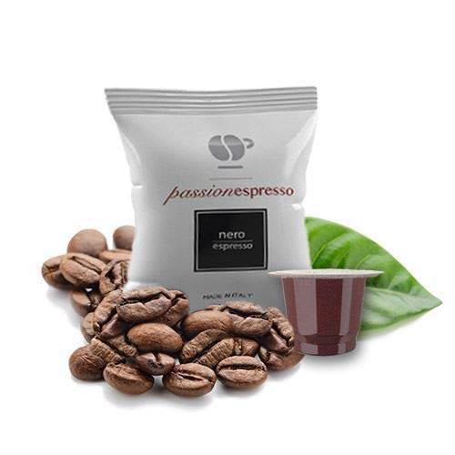 100 Capsule Compatibili Nespresso Lollo Caffe' Nero Espresso