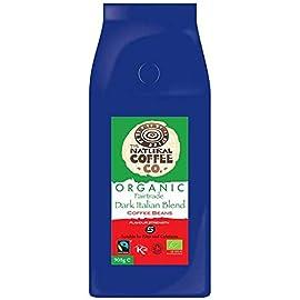 The Natural Coffee Co. Organic Dark Italian Blend Coffee, 908g 41HORLkZX5L