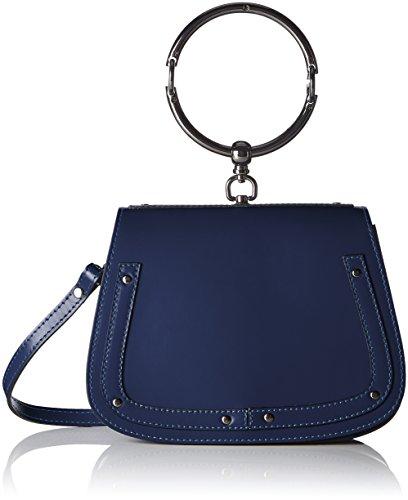 8812 23x17x8 Borse Chicca Blue Schultertasche cm Blau Damen v6xRqwEZ