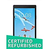 (Renewed) Lenovo Tab4 8 Tablet (8 inch, 16GB, Wi-Fi + 4G LTE, Voice Calling), Slate Black