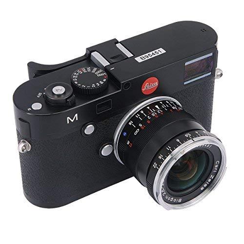 haoge thb-m24b Metall Hot Schuh Daumen bis Rest Hand Griff für Leica M Typ240M240, m-p Typ 240m240p, M type262M262, m-d Typ 262Kamera Schwarz